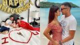 Siêu mẫu Hà Anh kỷ niệm 4 năm ngày cưới cùng chồng Tây ở Phú Quốc