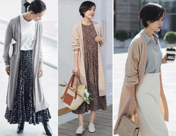 thời trang, thời trang tuổi 30, 40, phong cách trà, váy trà